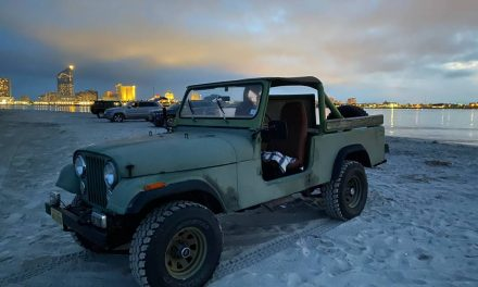 Beach Bum: 1981 Jeep CJ8 Scrambler – NOW $10,900