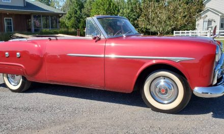 Classifind Cut 59: 1951 Packard 250 Ultramatic Convertible – SOLD!
