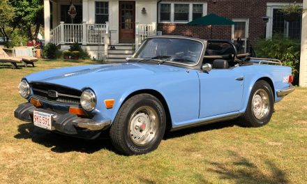 French Blue: 1974 Triumph TR6 – SOLD!