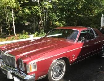 Classifind Cut 50: 1979 Chrysler Cordoba – $6,000