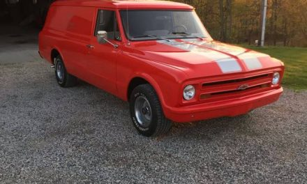 Wood Floors Throughout: 1967 Chevrolet C10 Suburban Panel Delivery – Sold?