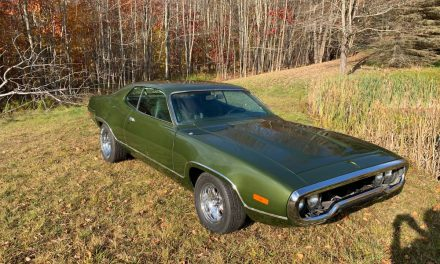 Three Months Gone: 1972 Plymouth Satellite Sebring – NOW $22,500