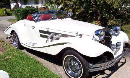 1934 Mercedes 380 Replica – $39,500