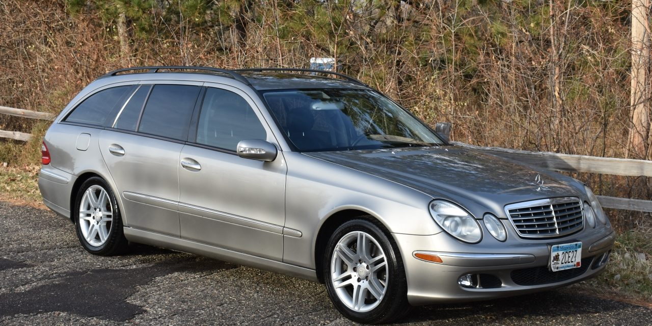 Space 29: 2005 Mercedes-Benz E500 Estate – SOLD at $4,233