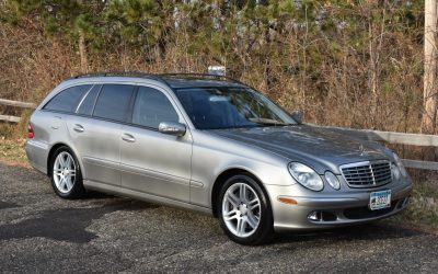 Space 29: 2005 Mercedes-Benz E500 Estate – SOLD at $4,233