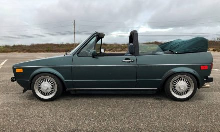 1 of 639: 1991 Volkswagen Cabriolet Etienne Aigner Edition – SOLD!