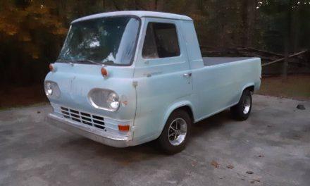 Tuscon Truck: 1963 Ford Econoline Pickup – SOLD!