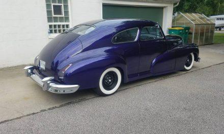 Classifind Cut 61: 1948 Oldsmobile Dynamic 66 Street Rod – SOLD!