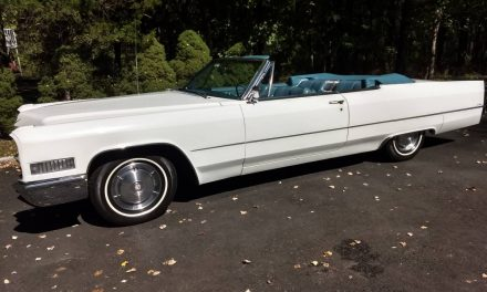 1966 Cadillac Coupe DeVille Convertible – Sold?