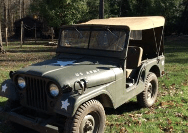 The Original: 1953 Willys M38A1 Jeep – $15,000