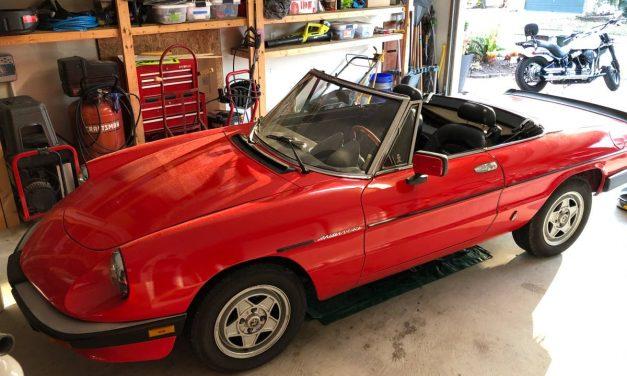 Think Summer: 1985 Alfa Romeo Spider Veloce – $5,900