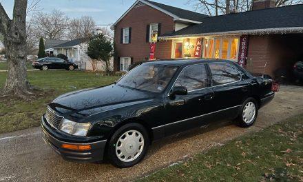 World Class Bargain: 1995 Lexus LS400 – Sold?