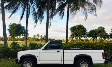 Droptop Pickup: 1989 Dodge Dakota Convertible – Sold?