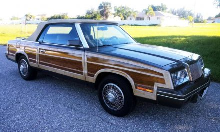 Town & Country Cruiser: 1985 Chrysler LeBaron – Sold?