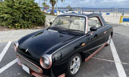 Cute Collectible: 1991 Nissan Figaro – Sold?
