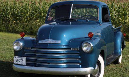 Photo Prop: 1950 Chevrolet 3100 Three Window- SOLD!