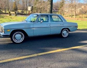 Baby Blue: 1972 Mercedes Benz 66K Mile Sedan – SOLD!