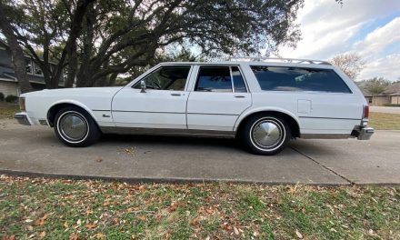1987 Oldsmobile Custom Cruiser 455 – SOLD!