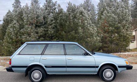 1992 Subaru Loyale 4×4 Wagon 26K Mile Survivor – Sold!
