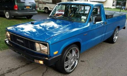 Classifind Cut: 1984 Mazda B2200 Pickup – $3,800