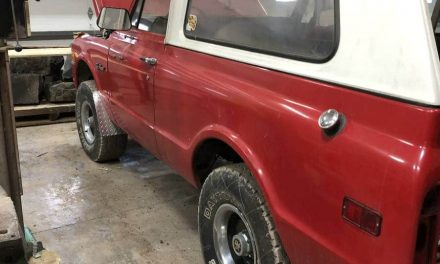 1972 Chevrolet K5 Blazer – SOLD!