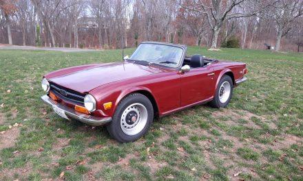 Optimal Overdrive: 1972 Triumph TR-6 – $9,000