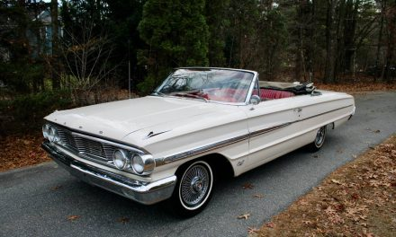 Classic Colors: 1964 Ford Galaxie 500 Convertible – Sold?