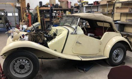 Beige Bliss: 1953 MG TD Project – NOW $12,000