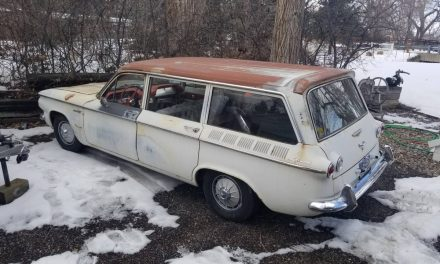 1961 Chevrolet Corvair Lakewood Project – Sold!