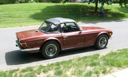 Classifind Cut: 1970 Triumph TR6 – STILL $15,500