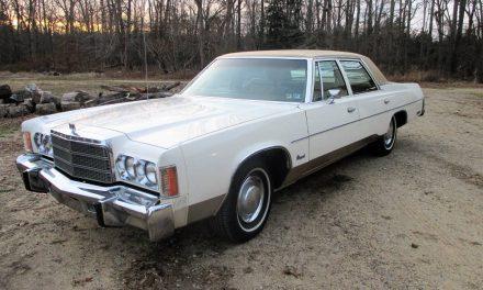 No Air: 1977 Chrysler Newport 46K Mile Sedan – Sold?