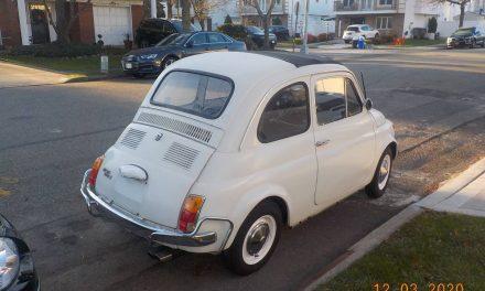 COVID Casualty: 1970 Fiat Nuovo 500L – SOLD!