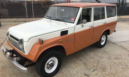 Iron Pig: 1972 Toyota FJ55 Land Cruiser – SOLD!