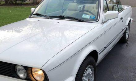 Classifind Cut: 1987 BMW E30 325iC 5-speed – Sold?