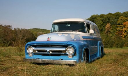 1956 Ford F100 Panel Truck – $35,000