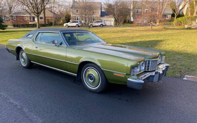Three Months Gone: 1973 Ford Thunderbird – NOW $8,000