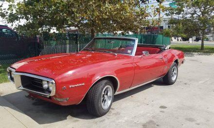 Classifind Cut: 1968 Pontiac Firebird Convertible – Sold?