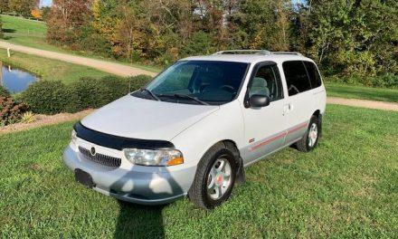 Rad Van: 1999 Mercury Villager Sport – SOLD!