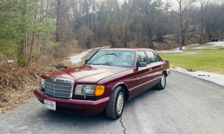 Low Mileage Flagship: 1989 Mercedes-Benz 300SE – SOLD!