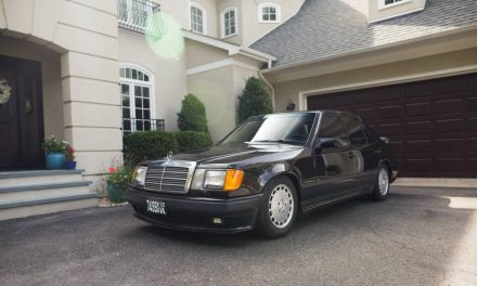 Rare 5-Speed: 1986 Mercedes-Benz 300E – Sold?