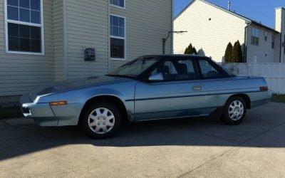 Rad Wedge: 1989 Subaru XT – $1,700