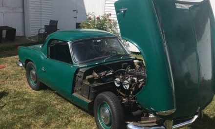 Classifind Cut: 1964 Triumph Spitfire Mk I – SOLD!