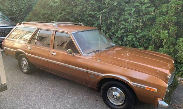 NEW! Award 59: 1977 Dodge Aspen Wagon – Sold?