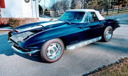 Blue Over Blue: 1967 Corvette Convertible – SOLD!