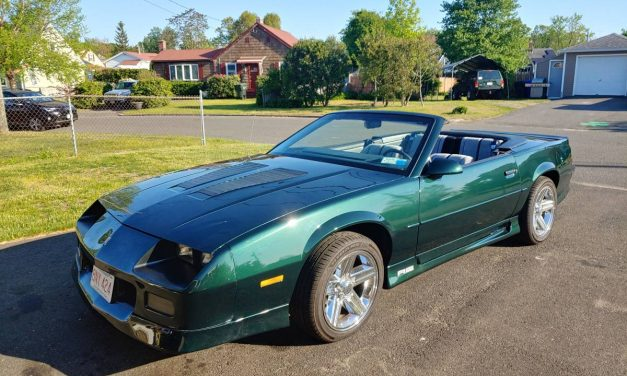 1992 Chevrolet Camaro RS Convertible – $10,000