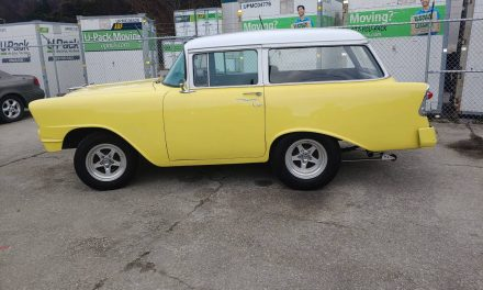 Classifind Cut: 1956 Chevrolet Bel Air Wagon Street Machine – $22,500