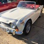 Toyota Tranny: 1968 Triumph TR250 – $48,500