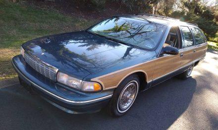 LT1 Longroof: 1995 Chevrolet Caprice Estate Wagon – $8,800