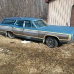 Blue Canoe: 1969 Ford LTD Country Squire – $7,500 FIRM