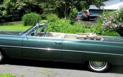 Final Fins: 1964 Cadillac DeVille Convertible – $20,500
